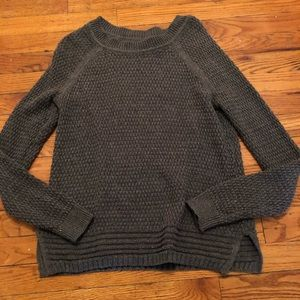 Old Navy charcoal gray sweater, size small